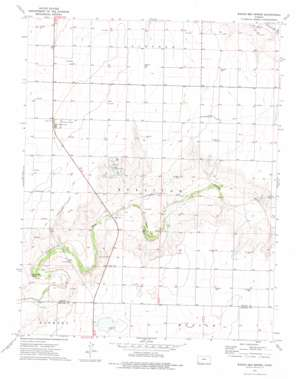 Wagon Bed Spring topo map