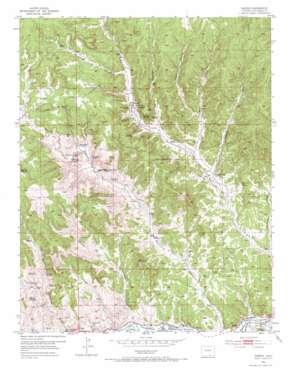 Madrid topo map