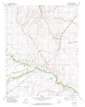 Earl topo map