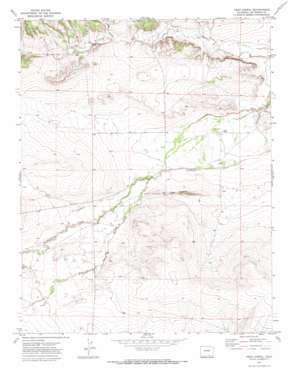 Vega Corral topo map