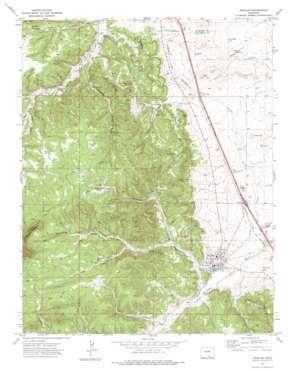 Aguilar topo map