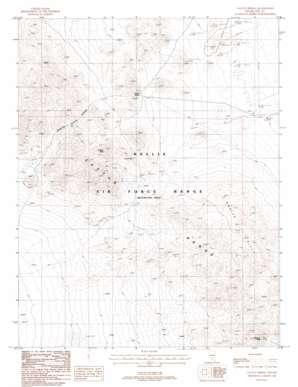 Cactus Spring topo map