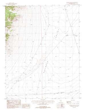 Reveille Peak Se topo map
