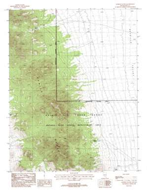 Georges Well topo map