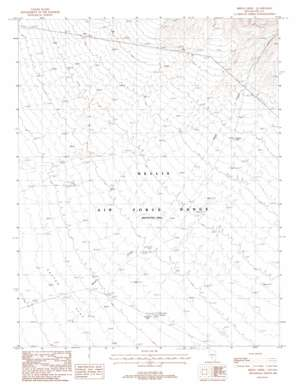 Breen Creek topo map