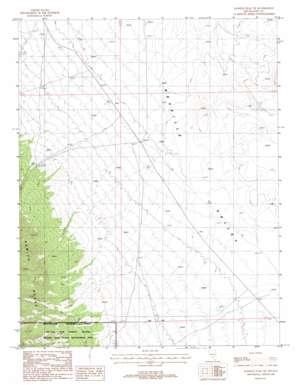 Kawich Peak Ne topo map