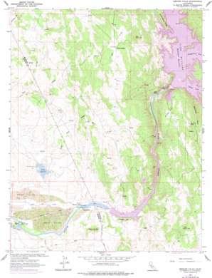 Merced Falls topo map