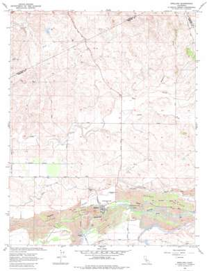 Snelling topo map