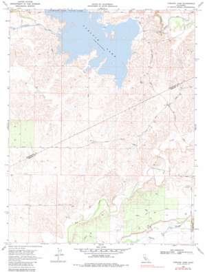 Turlock Lake topo map
