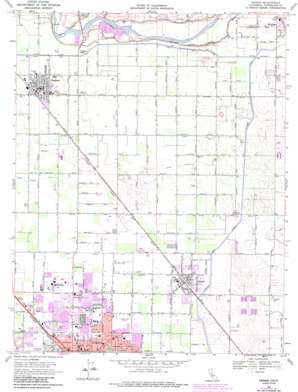 Denair USGS topographic map 37120e7