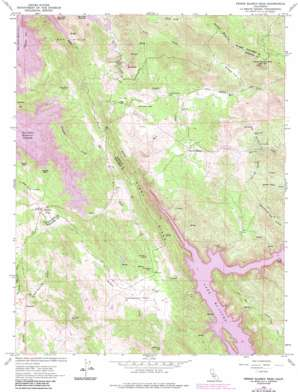 Penon Blanco Peak topo map