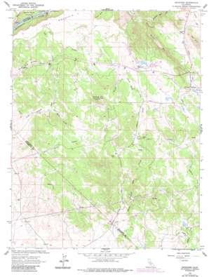 Keystone topo map