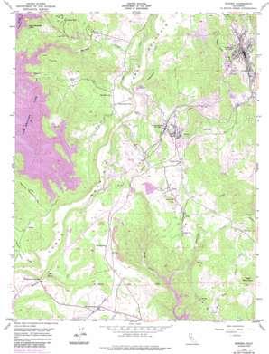Sonora topo map