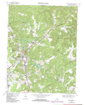 Bowling Green USGS topographic map 38077a3