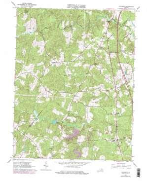 Ladysmith USGS topographic map 38077a5