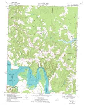 Rollins Fork topo map