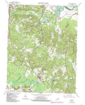 Guinea USGS topographic map 38077b4