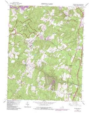 Spotsylvania topo map