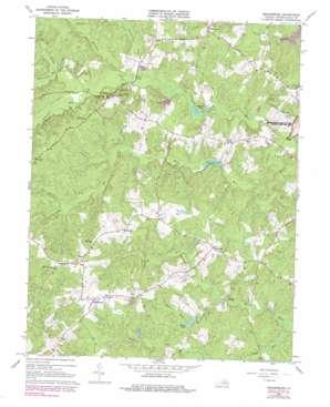 Brokenburg topo map