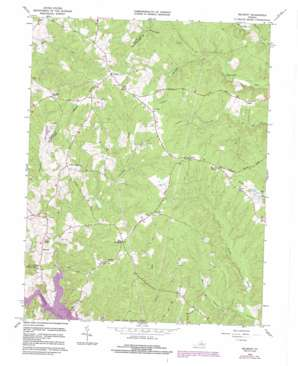 Belmont USGS topographic map 38077b7