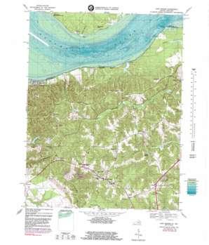 King George topo map