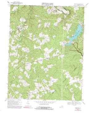 Mine Run USGS topographic map 38077c7