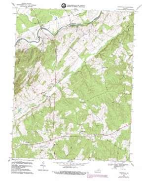 Unionville topo map
