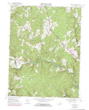 Richardsville topo map