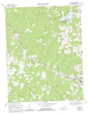 Louisa topo map