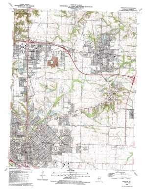 O'Fallon topo map