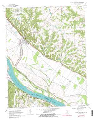 Prairie du Rocher USGS topographic map 38090a1