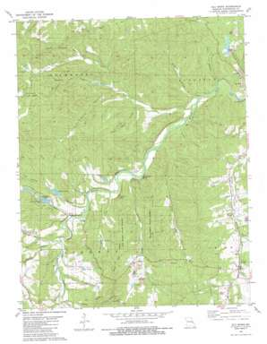 Old Mines topo map