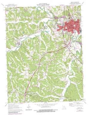 Festus topo map