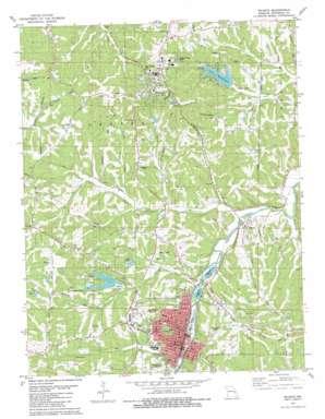 Desoto topo map