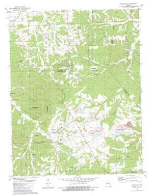 Richwoods topo map