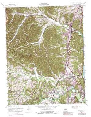 Herculaneum topo map