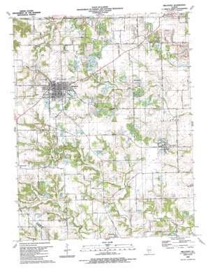 Millstadt USGS topographic map 38090d1
