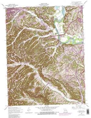 Maxville topo map