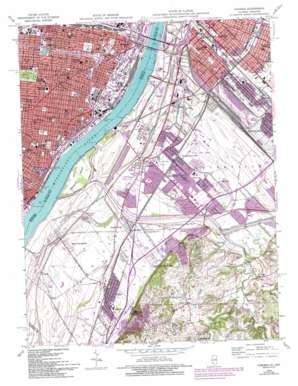 Cahokia topo map
