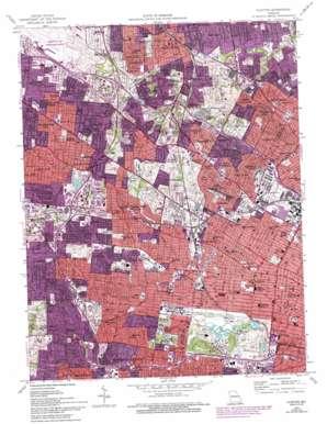 Clayton topo map