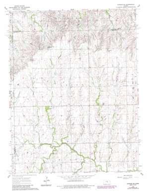 Gypsum Se topo map