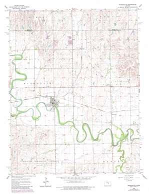 Marquette topo map