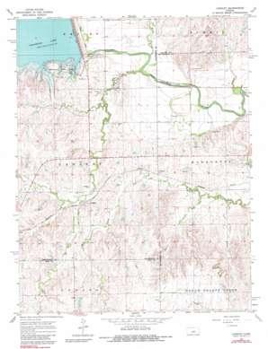 Langley topo map