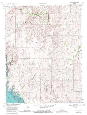 Venango topo map