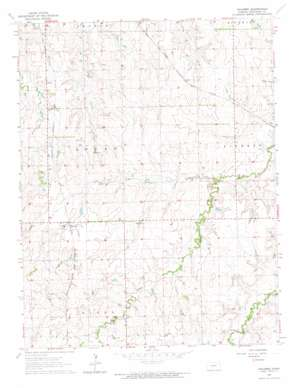 Navarre topo map