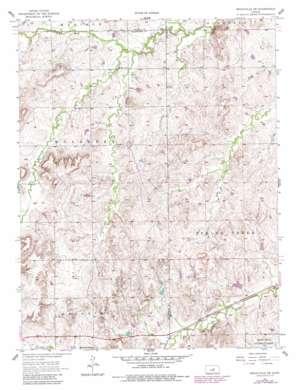 Brookville Sw topo map