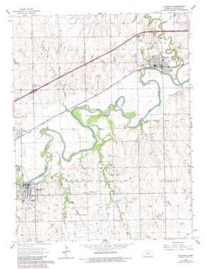 Chapman topo map