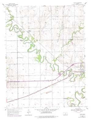 Niles topo map