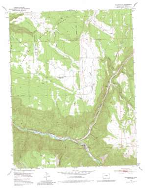 Nucla USGS topographic map 38108a1