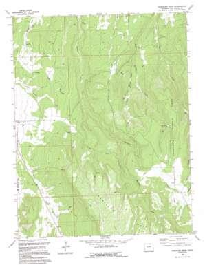 Barkelew Draw topo map